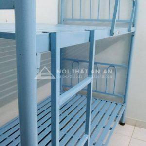 Giường tầng An An- Giường tầng sắt giá rẻ Hà Nội hai tầng rộng 1m-MSP: GSTAA22