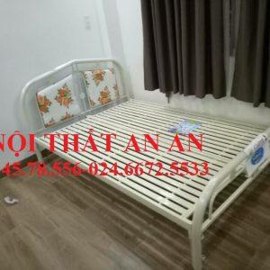 Giường sắt An An- Giường ngủ đôi rộng 1m8x2m-MSP: GSAA20