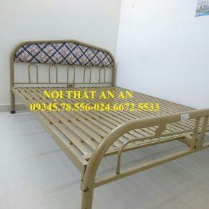Giường sắt An An- Giường ngủ đôi rộng 1m6-MSP: GSAA18