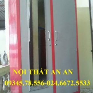 Tủ quần áo Gia đình giá rẻ cao 1,7m rộng 1m màu hồng – TSAA73