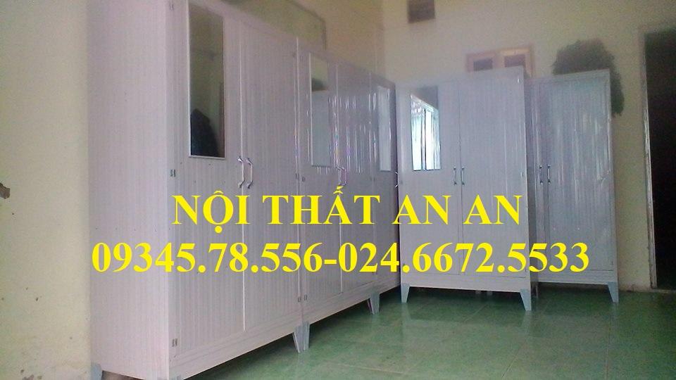Tủ tôn 2 buồng giá rẻ màu trắng tại Hà Nội - Nội thất AN AN - TTAA35