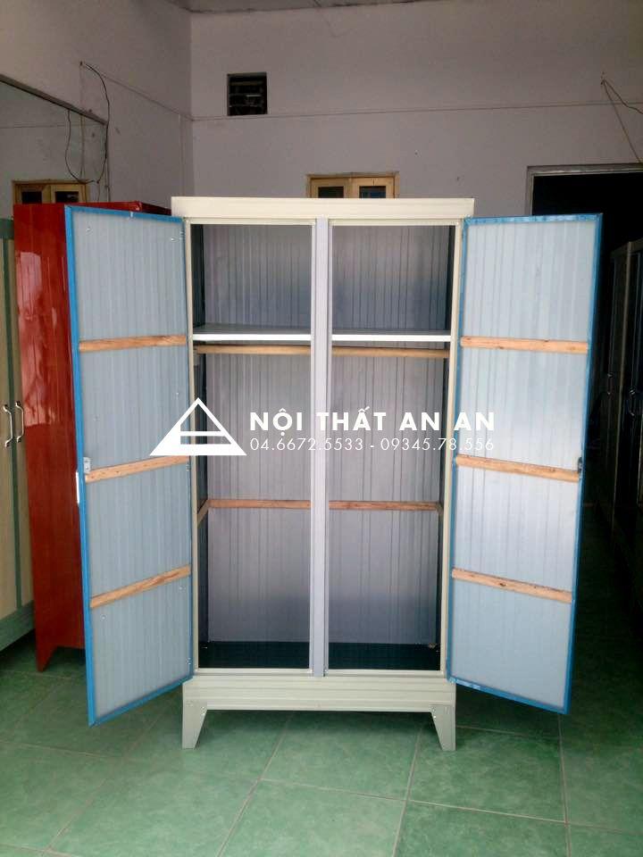 Tủ tôn cá nhân có ngăn xếp đồ gấp, ngang 80cm sâu 45cm cao 155cm - TTAA40